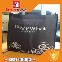 Unique design customized reusable folding rose shopping bag