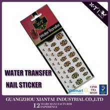 2015 3D Nail Art Tips Stickers False Nail Design Manicure Decals Nail Art Water Nail Art Decal / Tattoo / Sticker
