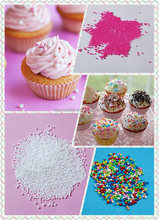 Simple Color of Edible Pearl for Cake Decoration Sprinkles