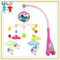 Electric baby mobile baby mobile hanger plastic baby musical mobile