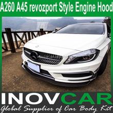 A260 A45 Revozport Style FRP Engine Hood , A260 A45 Bumper Guard For A260 A45 Custom Hoods