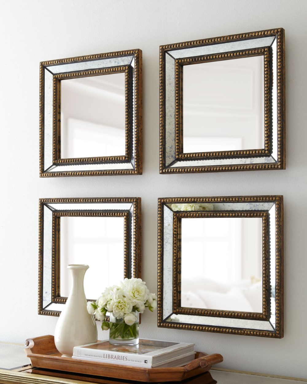 Beaded Square Home Decor Wall Mirror - Buy Mirror,Home Decor Mirror ...