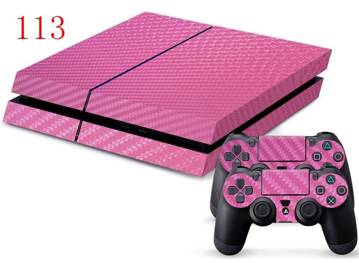 113 ps4 pink sticker_