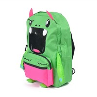 ZQ-A-008 Dongguan 600D factory direct sale BSCI certification skinp hop zoo pack little kid backpack