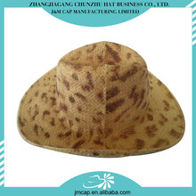 Great selling cheap latest style fabric cowboy hat