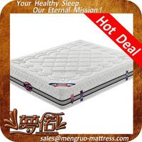 massage bamboo king size pocket sprung euro bed mattress