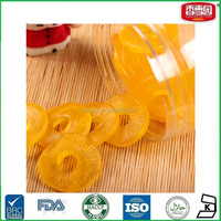 Pineapple rings Gummy Candy Sweet Halal Jelly Gummy Candy