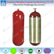 Solid Steel Type 1/Type 2 CNG Gas Cylinder with Valve
