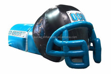 2015 New Design inflatable sports football helmet with factory price