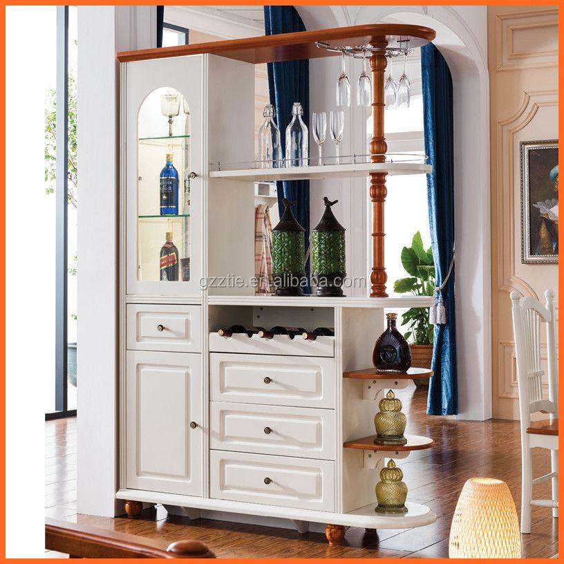 Zt f17 divider cabinet furniture wood living room cabinet for Living room divider cabinet designs