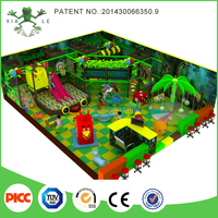 2015 New Jungle Gym Kids Indoor Naughty Fort For Playground