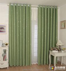 mini matt fabric for 4 star hotel Blackout Hotel Curtain Drapery window curtains