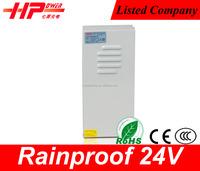 Guangzhou factory free samples rainproof CCTV camera constant voltage single output 360w 15a 220v 24v power supply