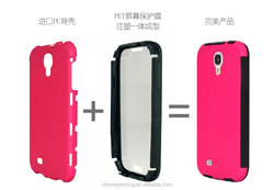 Top quality new design TPU+PC mobile phone case for samsung galaxy s4