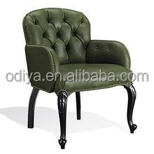 English regency style upholstered furniture living room roll arm sofa