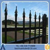 Durable Wrought Iron Fence For Home/2015 High-grade Safety Fence/Galvanized Steel Fence For Sale