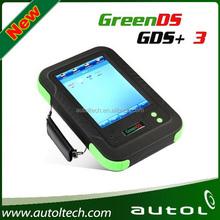 genuine car computer OEMSCAN GreenDS GDS+ 3 Car diagnostic tool support truck--danae hotsale