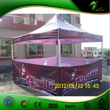 3x3m Durable Purple Trade Show Cheap Folding Tent For Sale