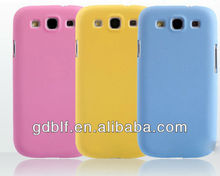 Perfect with bright color back cover for samsung galaxy s3 phone case