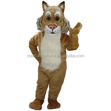 Cosplay cartoon mascot costume figure of Bobcat adults under the bobcats individuality luxurious
