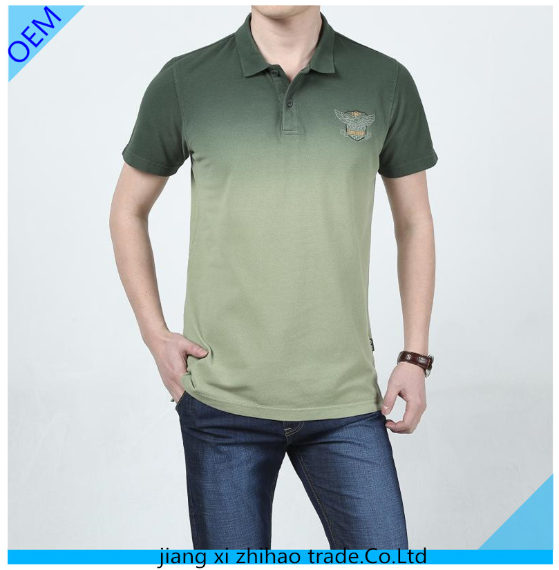 Wholesale men 39 s fashion lime green polo shirts with for Wholesale polo style shirts
