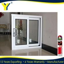 Shanghai factory wholesale double tempered low-e glass aluminum&glass sliding WINDOW