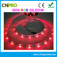 Factory direct sale 5050 flexible non-waterproof rgb led strip light