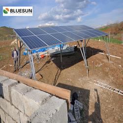 Bluesun easy installed home solar power system 1kw solar panel