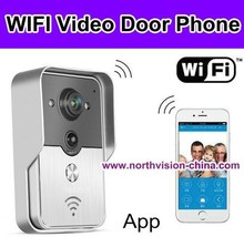 New design wifi door entry camera with free P2P cloud recording function