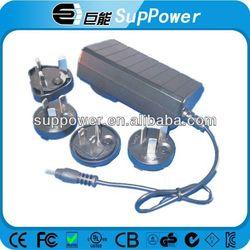 interchangeable plug 12v Mode 5.5*2.1/2.5mm Dc Power Plug Jack 60w adapter