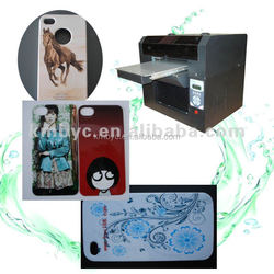 Hot sales small size A3 uv cellphone case printing machine from china reliable supplier