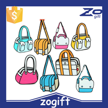 ZOGIFT Encai New Fashion 3D Cartoon Comic Women's Backpack/2D Knapsack /Stocked Ladies 3D Shoulder Bag