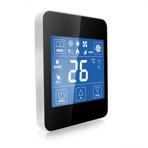ab02w sans fil programmable salle de cvc thermostat pour. Black Bedroom Furniture Sets. Home Design Ideas