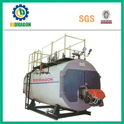 China WNS Series oil and gas boiler sales hot in india with CE & ISO & SGS