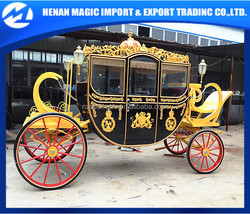 Factory direct sale Exalted royal horse drawn carriage manufacturer