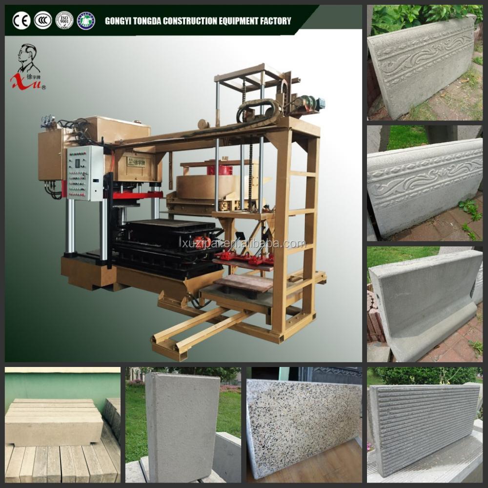New technology concrete block floor tile making machine for New tile technology