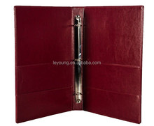 High End Restaurant Leather Menu Cover Binder