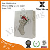 new products hot selling christmas packaging decorated paper bags