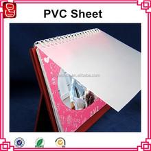 matt PVC book cover/PVC matt sheet/plastic matt sheet
