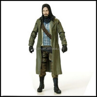 The Walking Dead Jesus Action Figure,custom personalized jesus figure toy,custom plastic action jesus figure art toys for kids