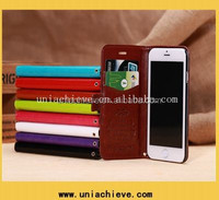 Free shipping! Small MOQ For Apple Iphone 6 Case, For iphone 6 Leather Case With Card Slots, Leather Case For Iphone 6