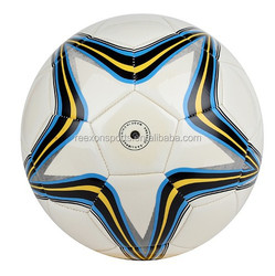BEST SALE Sports PVC Football machine Stitched Football soccer ball