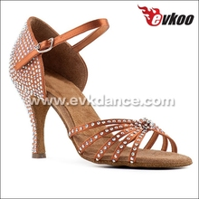 Zapatos de baile de salón de alta calidad con diamantes de imitación zapatos baile salsa
