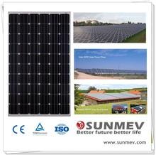 Best quality mono Solar Panels 260w ,price per watt monocrystalline silicon solar panel