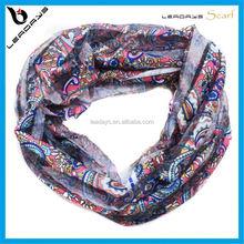 lovely soft fashion lady loop scarf