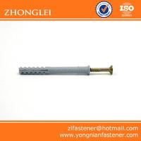 PVC wall plug anchor nylon wall plug
