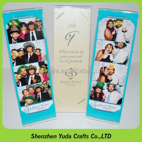 L Style 2x6 Photo Booth Frames For Photo Booth Strips Table Menu ...