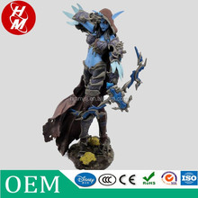 custom WOW action figure,plastic pvc game character figure Sylvanas Windrunner , chinese toy factory