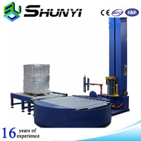 Most durable and competitive price pallet online wrapping machine with short delivery time