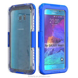 SK-111 IP-68 6m underwater unbreakable TPU waterproof phone case for Samsung galaxy note 5, galaxy note 5 outdoor case